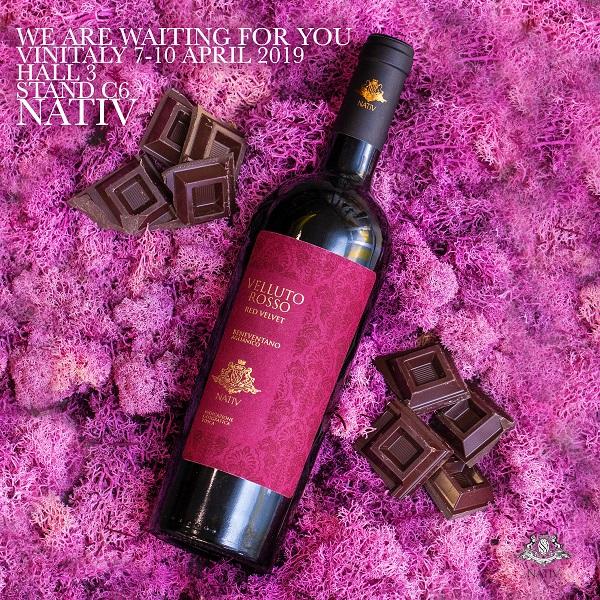 velluto rosso vino nativ