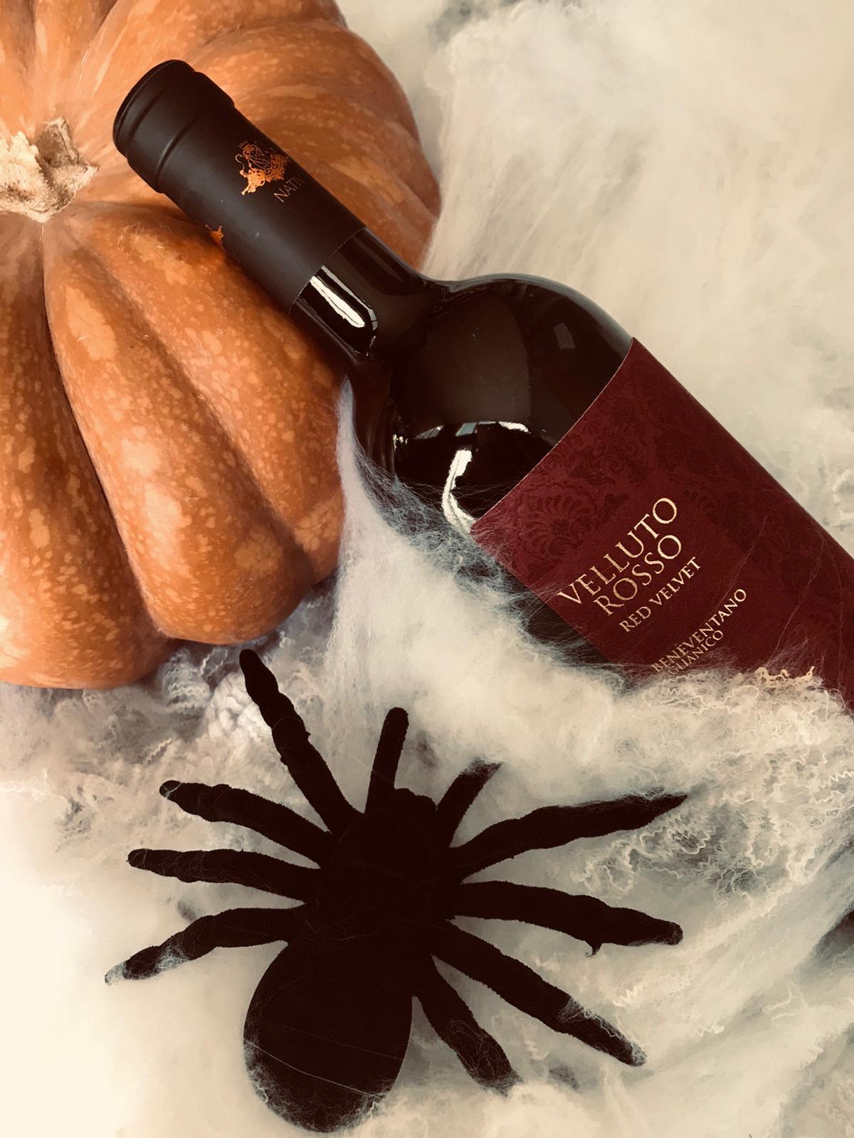 velluto rosso vino aglianico beneventano nativ