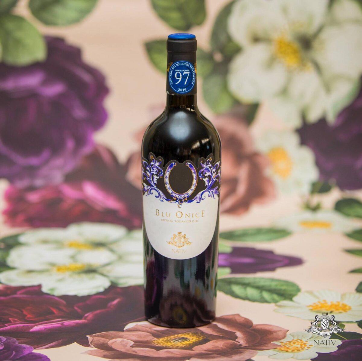 blu onice irpinia aglianico doc vino nativ