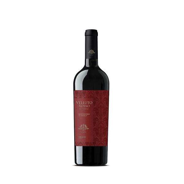 velluto rosso vino beneventano aglianico nativ